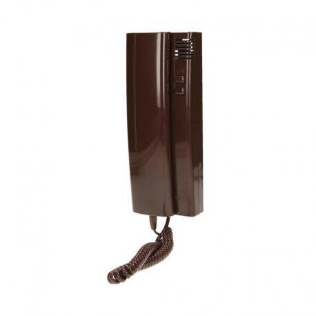 Orno Unifon wielolokatorski WEKTA do instalacji 4,5,6 żyłowych, brąz