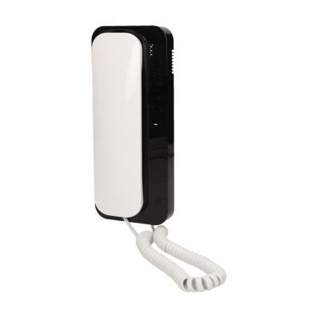 Orno Unifon wielolokatorski CYFRAL analogowy do instalacji 4,5,6 żyłowy SMART 5P, biało-czarny