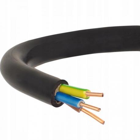 Kabel instalacyjny Elpar YKY 3x4 1m