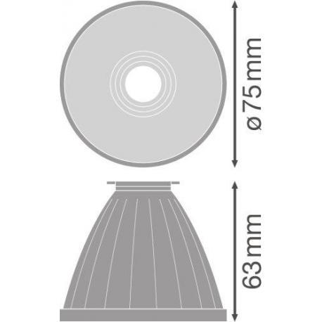TRACKLIGHT SPOT REFLECTOR D85 FL