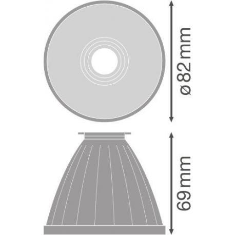 TRACKLIGHT SPOT REFLECTOR D95 FL