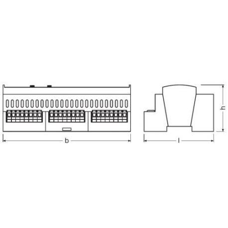 System sterowania oświetleniem DALI PRO CONT-4 RTC RTC