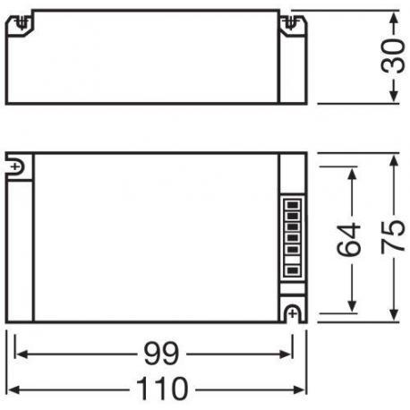 Układ do opraw oświetleniowych POWERTRONIC® PT-FIT S 70/220…240 S