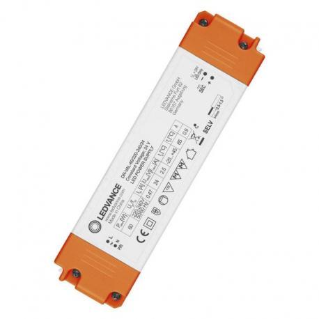 Stałonapięciowy zasilacz LED do użytku zewnętrznego, z interfejsem 1-10 V DR-VAL-60 LED DRIVER VALUE -60/220-240/24