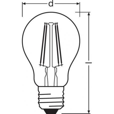 Żarówka LED PARATHOM® Retrofit CLASSIC A 60 7 W/2700K E27 10szt.