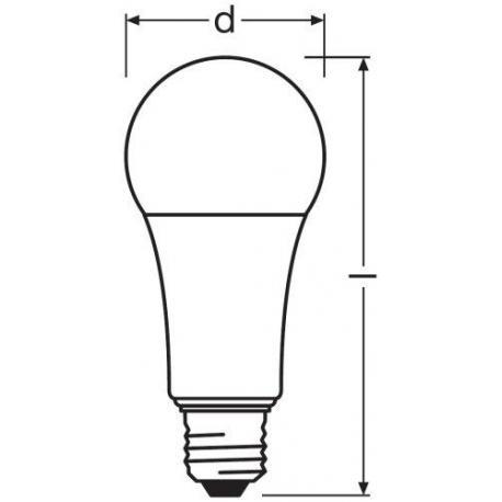 Żarówka LED VALUE CLASSIC A 100 FR 13 W/2700K E27 10szt.