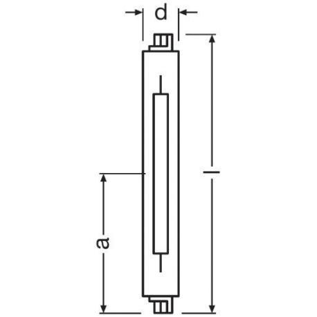 Żarówka sodowa VIALOX® NAV®-TS 400 W FC2