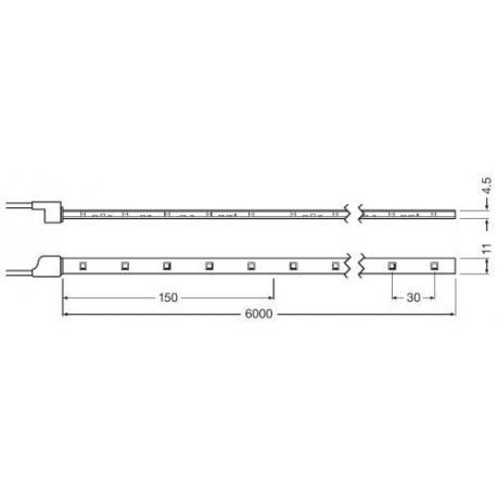 Oprawa oświetleniowa LED LINEARlight FLEX® ECO -G3-BL-06