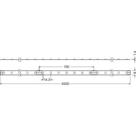 Oprawa oświetleniowa LED LINEARlight FLEX® POWER 1200 -G3-820-09