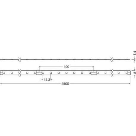 Oprawa oświetleniowa LED LINEARlight FLEX® POWER 2000 -G3-850-04