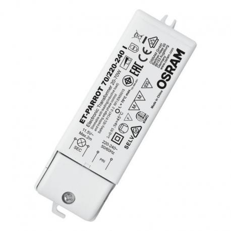 Zasilacz elektroniczny ET-PARROT® 70/220…240 I