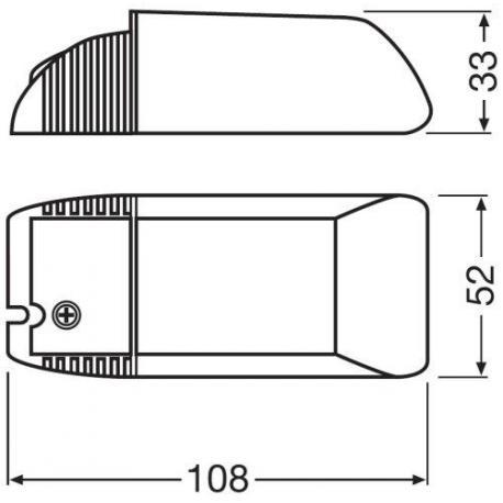 Zasilacz elektroniczny HALOTRONIC®-COMPACT – HTM, HTN 105/230…240