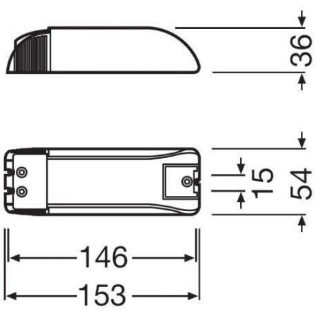 Zasilacz elektroniczny HALOTRONIC®-COMPACT – HTM, HTN 150/230…240