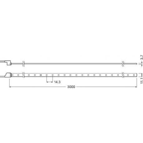 Taśma LED LINEARlight FLEX® Protect POWER 3000 -G3-830-03