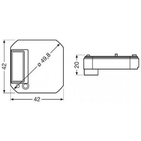 System sterowania oświetleniem DALI PRO PB Coupler PB Coupler