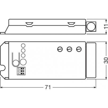 System sterowania oświetleniem DALIeco Swarm Adapter SWARM ADAPTER