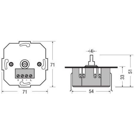 System sterowania oświetleniem DIM MCU