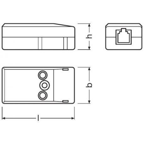 System sterowania oświetleniem HF LS LI