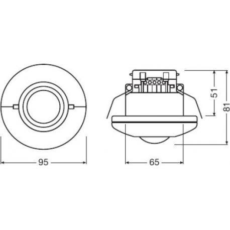 System sterowania oświetleniem LUXeye® Sense DALI BT Sense DALI BT