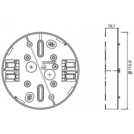 System sterowania oświetleniem Mounting adapters