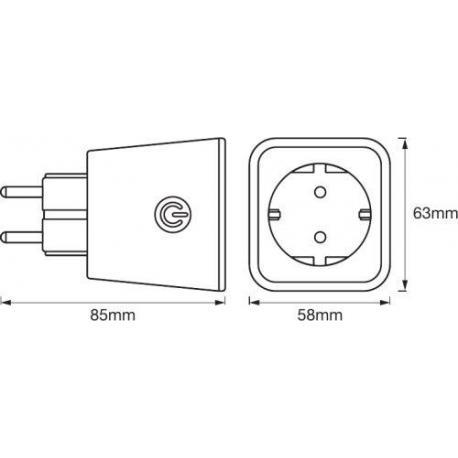 System sterowania oświetleniem SMART+ Plug EU