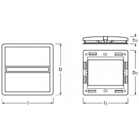 System sterowania oświetleniem Touch DIM® WCU
