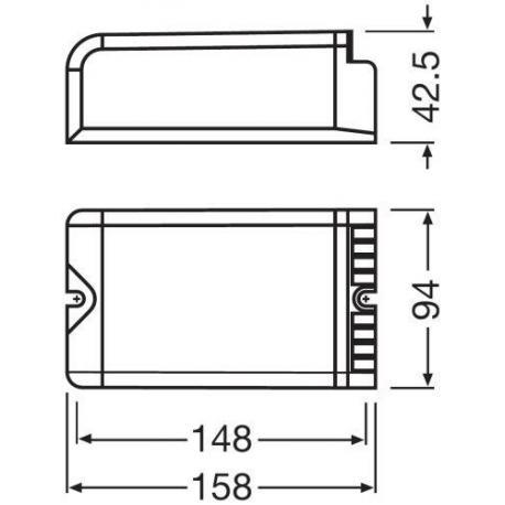 Statecznik elektroniczny POWERTRONIC® OUTDOOR PTo 150/220…240 3DIM