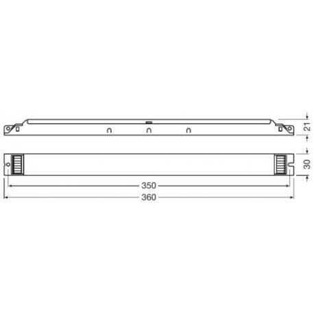 Statecznik elektroniczny QUICKTRONIC® DIM T8 1X58 DIM