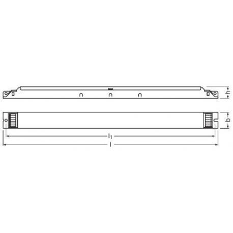 Statecznik elektroniczny QUICKTRONIC® DIM T8 2X58 DIM