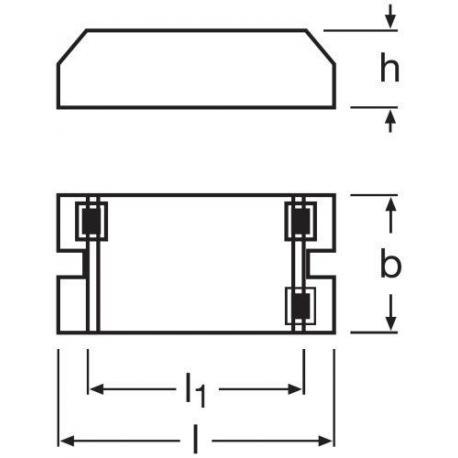Statecznik elektroniczny QUICKTRONIC® ECONOMIC 1X18…21 S
