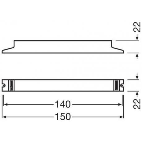 Statecznik elektroniczny QUICKTRONIC® ECONOMIC 1X4…16 L