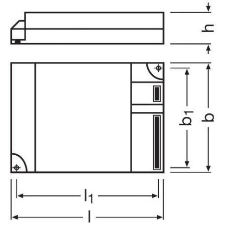 Statecznik elektroniczny QUICKTRONIC® INTELLIGENT DALI DIM CFL 2X18…42 DIM