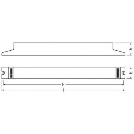 Statecznik elektroniczny QUICKTRONIC® INTELLIGENT DALI DIM T8 4X18 DIM