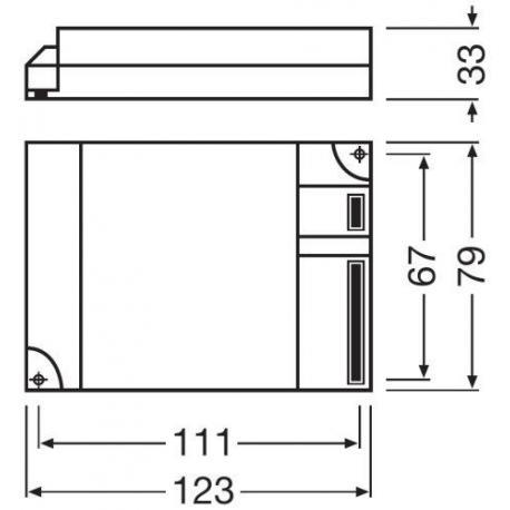 Statecznik elektroniczny QUICKTRONIC® INTELLIGENT DIM CFL 2X18…42 DIM