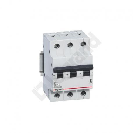 Wyłącznik nadprądowy RX3 3P C 16A 6000A