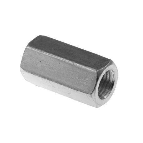 Uziom-łącznik do pobijaka(fi16)sześciokątny ocynk galwaniczny Pawbol R.8163G-P