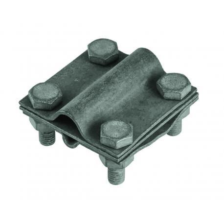 Złacze krzyżowe duże (trzy płytki 4xM10) ocynk ogniowy Pawbol R.8051