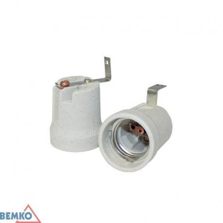 Bemko Oprawka Ceramiczna E27 Z Uchwytem L