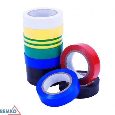 Bemko Taśma Izolacyjna 15X10M Kolorowa/Multicolor