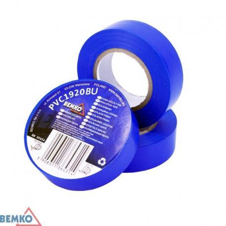 Bemko Taśma Izolacyjna 19X20M Niebieska/Blue