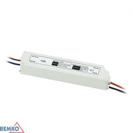 Bemko Zasilacz Elektroniczny Led Hermetyczny Ip67 12V 20W