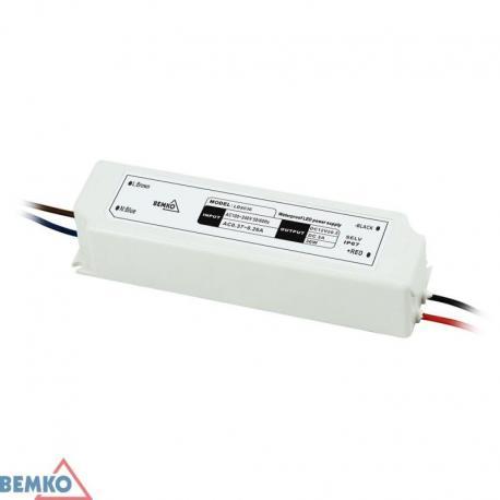 Bemko Zasilacz Elektroniczny Led Hermetyczny Ip67 12V 36W