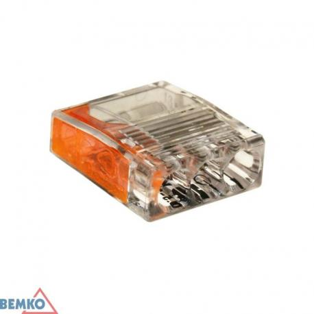 Bemko Szybkozłączka Kompakt 0,5-2,5Mm2 X 3 -10 Szt.