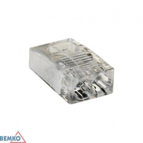 Bemko Szybkozłączka Kompakt 0,5-2,5Mm2 X 2 -10 Szt.