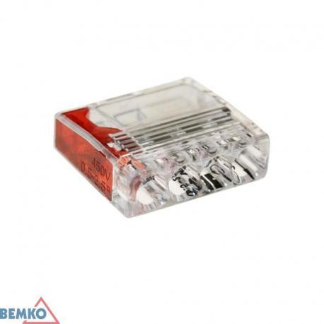Bemko Szybkozłączka Kompakt 0,5-2,5Mm2 X 4 -10 Szt.