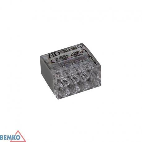 Bemko Szybkozłączka Kompakt 0,5-2,5Mm2 X 8 -10 Szt.