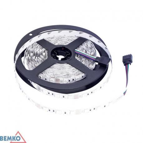 Bemko Taśma Led Premium 12V Dc 5050 300Led/5M 72W Ip20 2Lata Gw. Multikolor