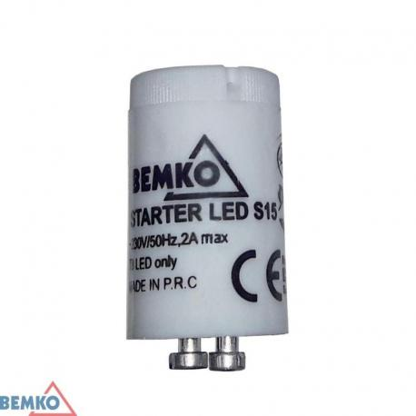 Bemko Starter S15 Do Tub T8 Led