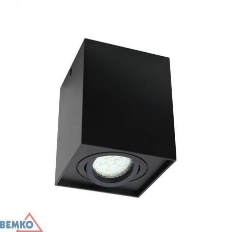 Bemko Downlight Ortal Regulowana 96X96 Gu10 Max. 1X50W Czarna