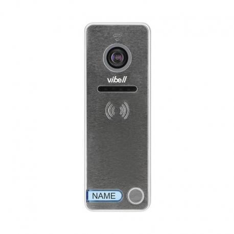 Orno Wideo kaseta 1-rodzinna z kamerą szerokokątną, kolor, wandaloodporna, diody LED, do zastosowania w systemach VIBELL